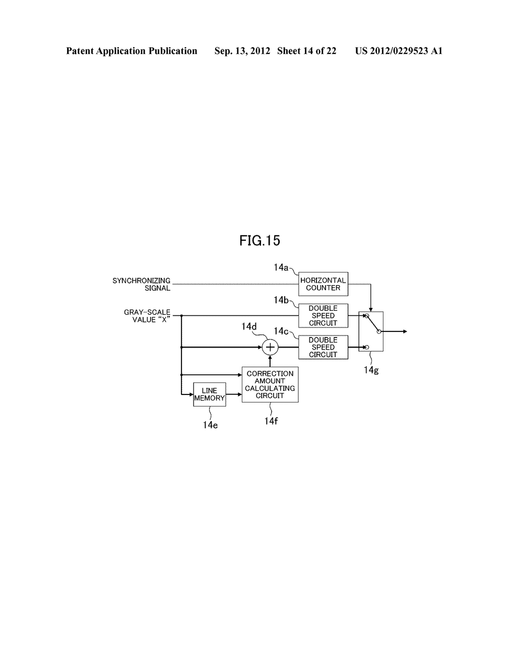 LIQUID CRYSTAL DISPLAY DEVICE - diagram, schematic, and image 15