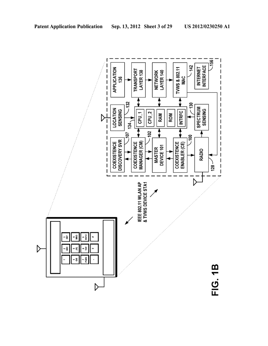 METHOD, APPARATUS AND COMPUTER PROGRAM FOR CONTROLLING COEXISTENCE BETWEEN     WIRELESS NETWORKS - diagram, schematic, and image 04