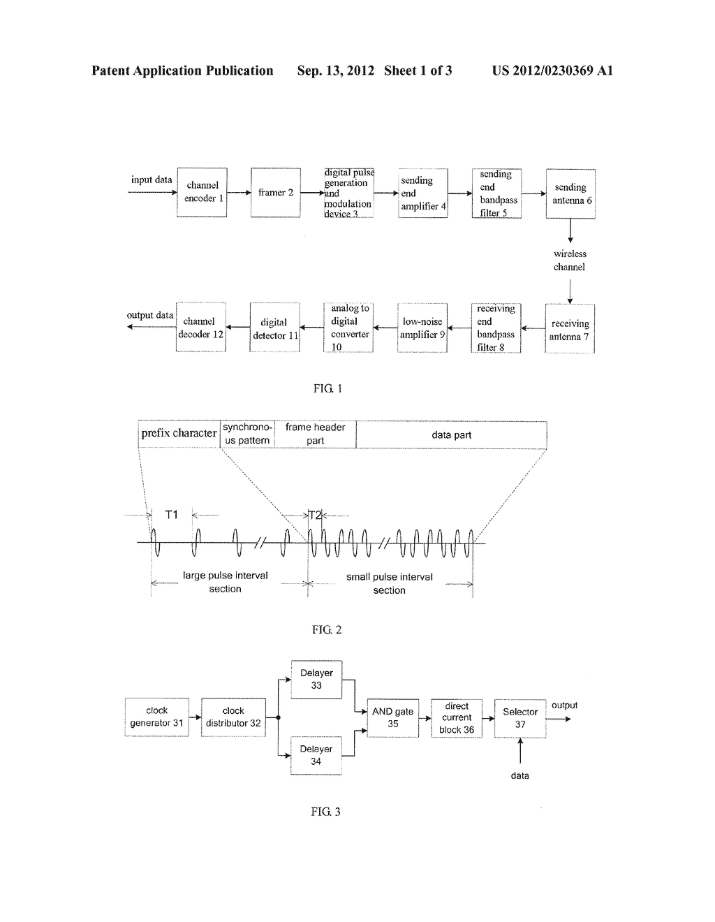 HIGH-SPEED SAMPLING AND LOW-PRECISION QUANTIFICATION PULSE ULTRA-WIDEBAND     WIRELESS COMMUNICATION METHOD - diagram, schematic, and image 02
