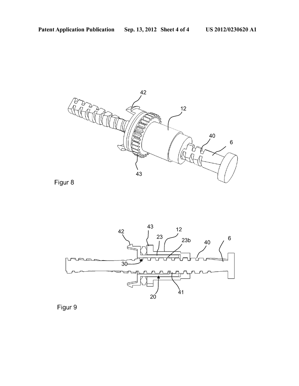 THRUST BEARING ASSEMBLY, DRIVE TRAIN, AND MEDICAMENT DELIVERY DEVICE - diagram, schematic, and image 05