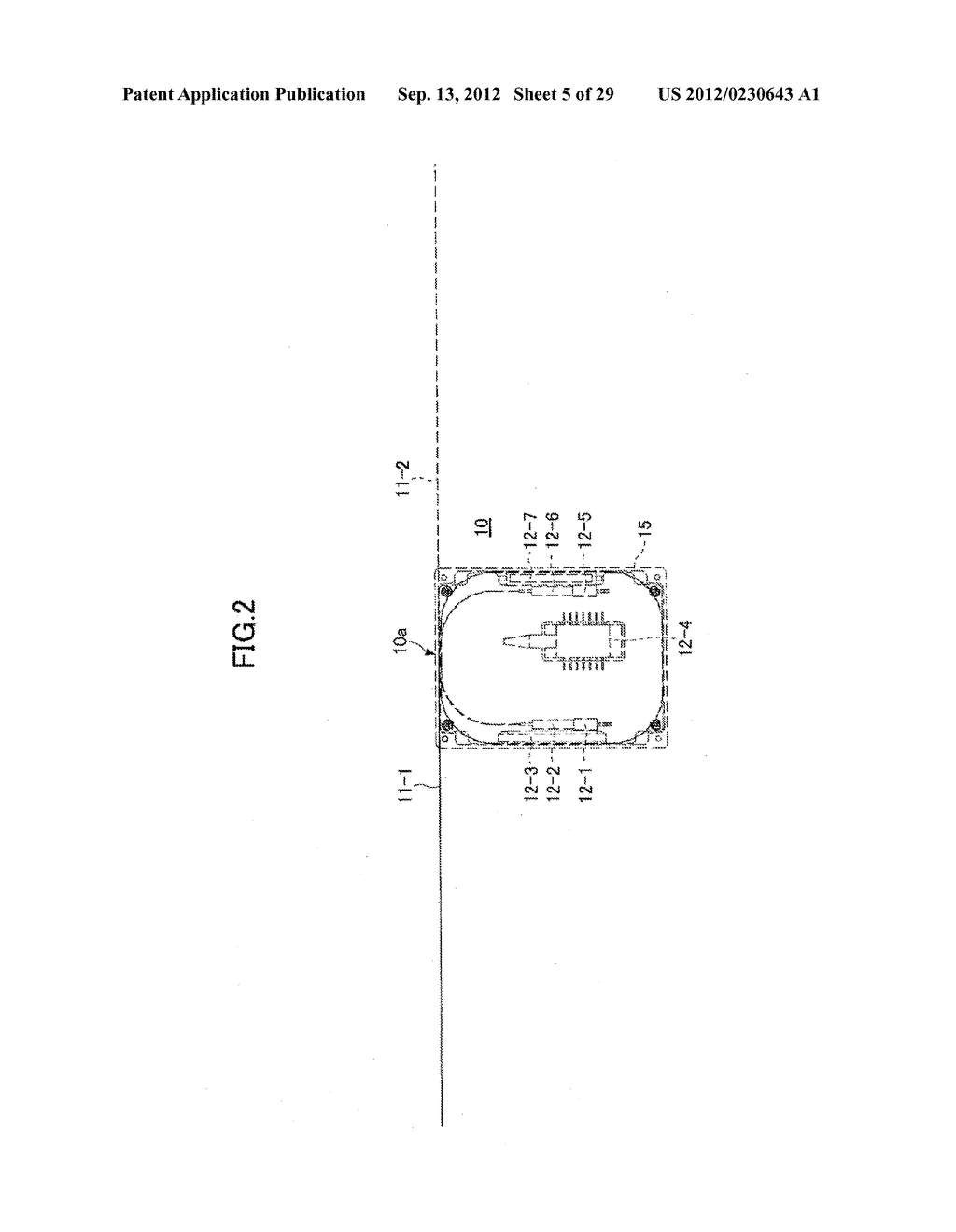 OPTICAL FIBER HOLDER, OPTICAL DEVICE USING THE SAME, AND METHOD FOR     STOWING SURPLUS LENGTH OF OPTICAL FIBER - diagram, schematic, and image 06