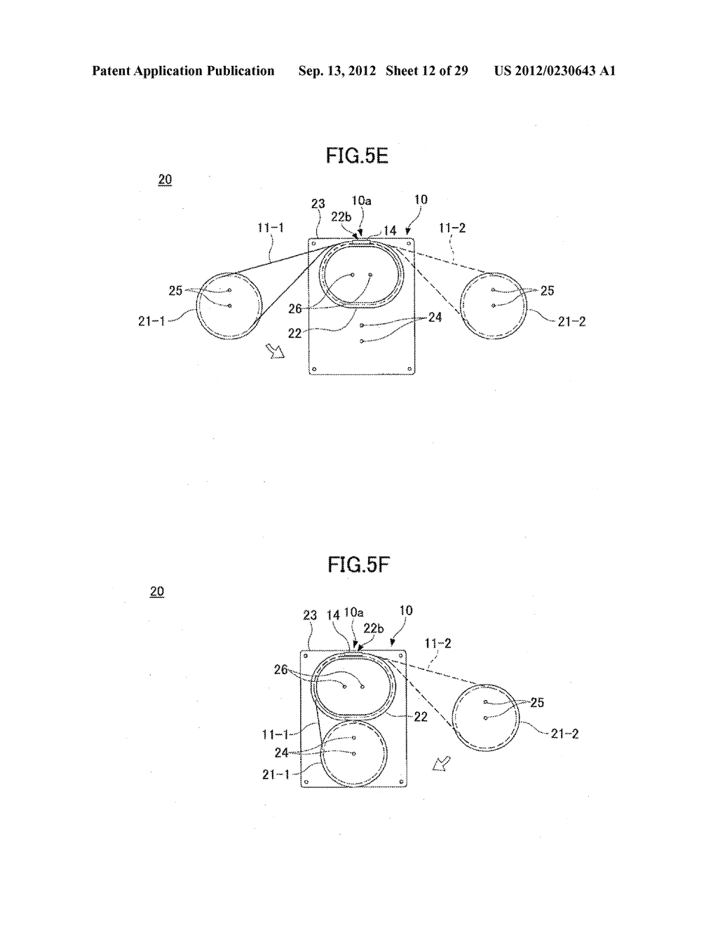 OPTICAL FIBER HOLDER, OPTICAL DEVICE USING THE SAME, AND METHOD FOR     STOWING SURPLUS LENGTH OF OPTICAL FIBER - diagram, schematic, and image 13