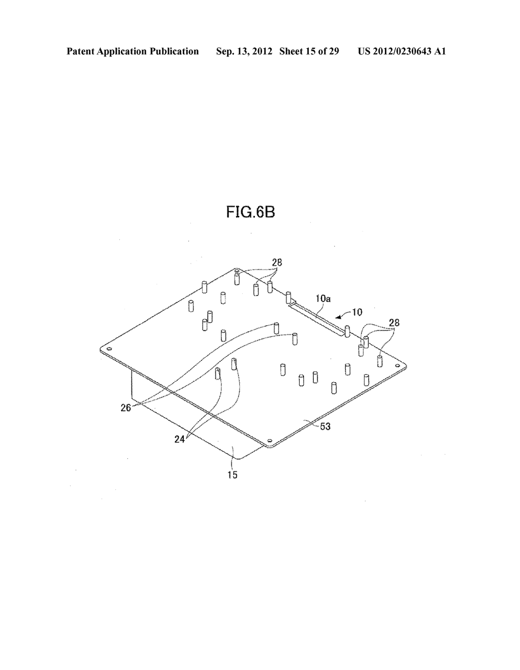 OPTICAL FIBER HOLDER, OPTICAL DEVICE USING THE SAME, AND METHOD FOR     STOWING SURPLUS LENGTH OF OPTICAL FIBER - diagram, schematic, and image 16