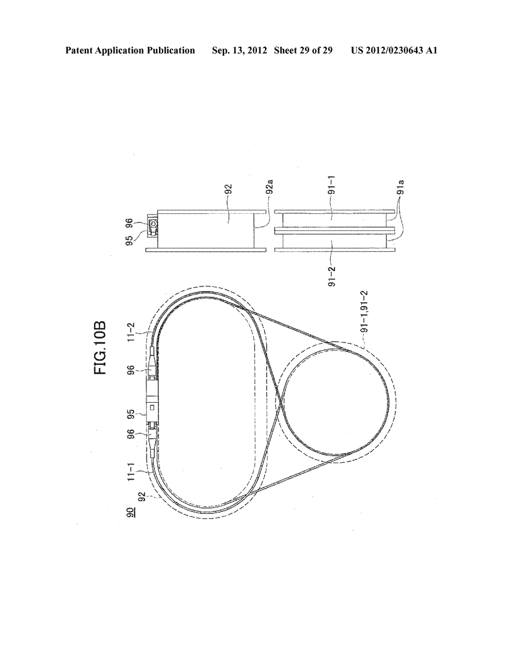 OPTICAL FIBER HOLDER, OPTICAL DEVICE USING THE SAME, AND METHOD FOR     STOWING SURPLUS LENGTH OF OPTICAL FIBER - diagram, schematic, and image 30