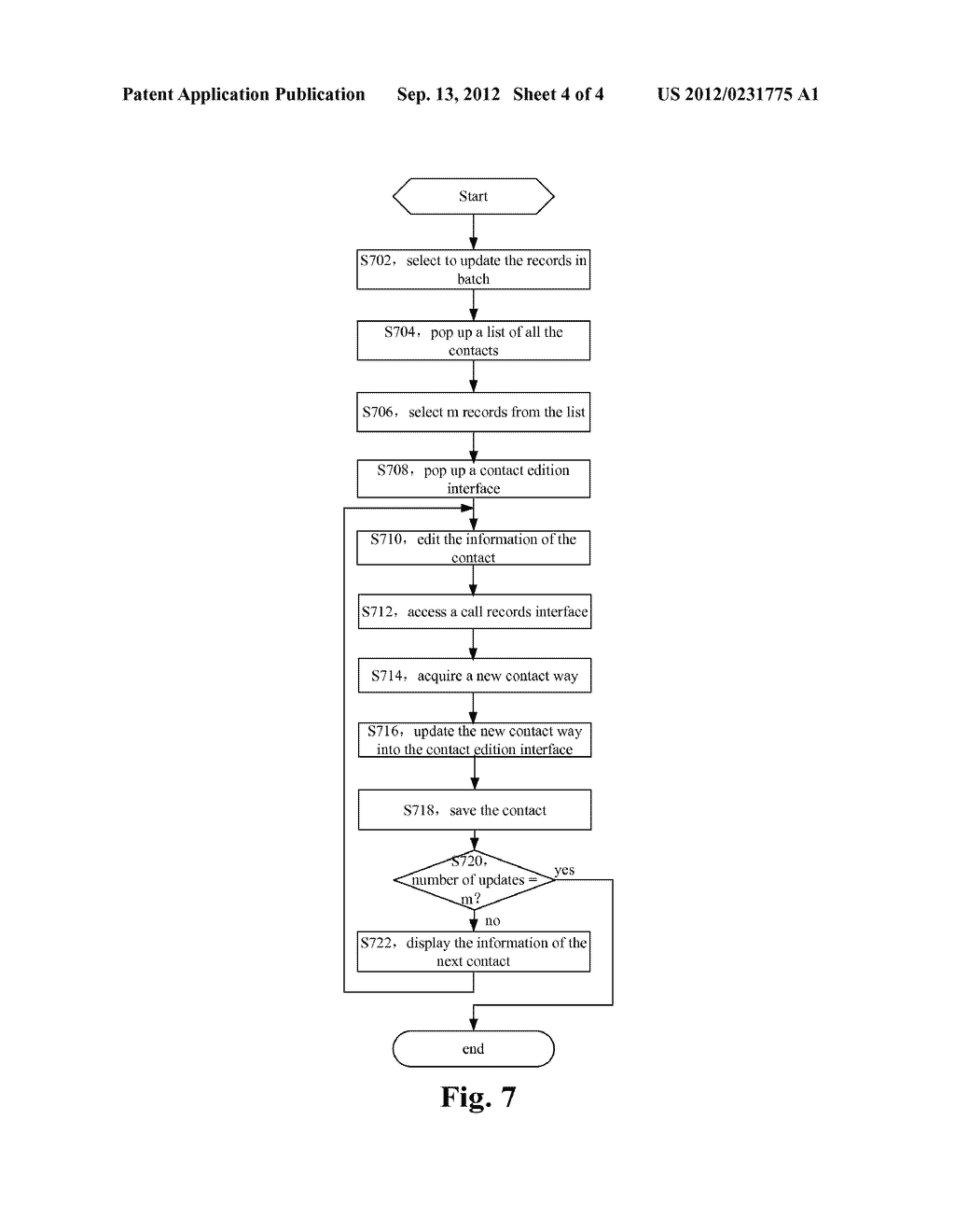 MOBILE TERMINAL AND METHOD FOR UPDATING INFORMATION OF CONTACTS - diagram, schematic, and image 05