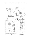 VEHICLE TELEMATICS COMMUNICATION FOR PROVIDING HANDS-FREE WIRELESS     COMMUNICATION diagram and image