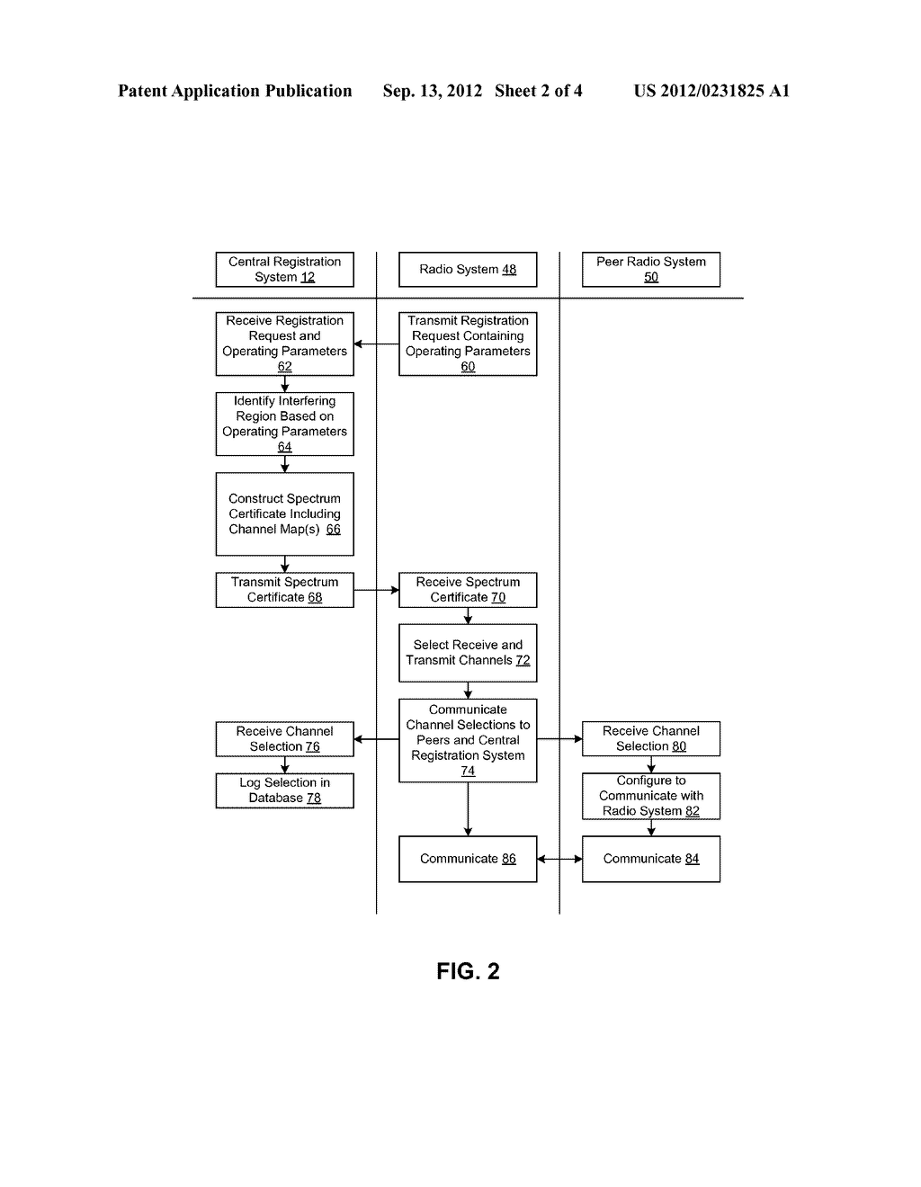 SYSTEM AND METHOD FOR MANAGING SPECTRUM ALLOCATION - diagram, schematic, and image 03