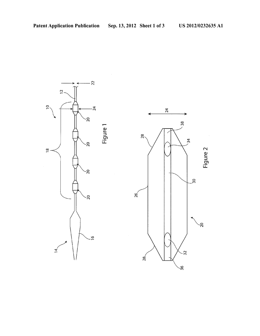 INTRODUCER ASSEMBLY AND CARRIER ELEMENT FOR A MEDICAL DEVICE - diagram, schematic, and image 02