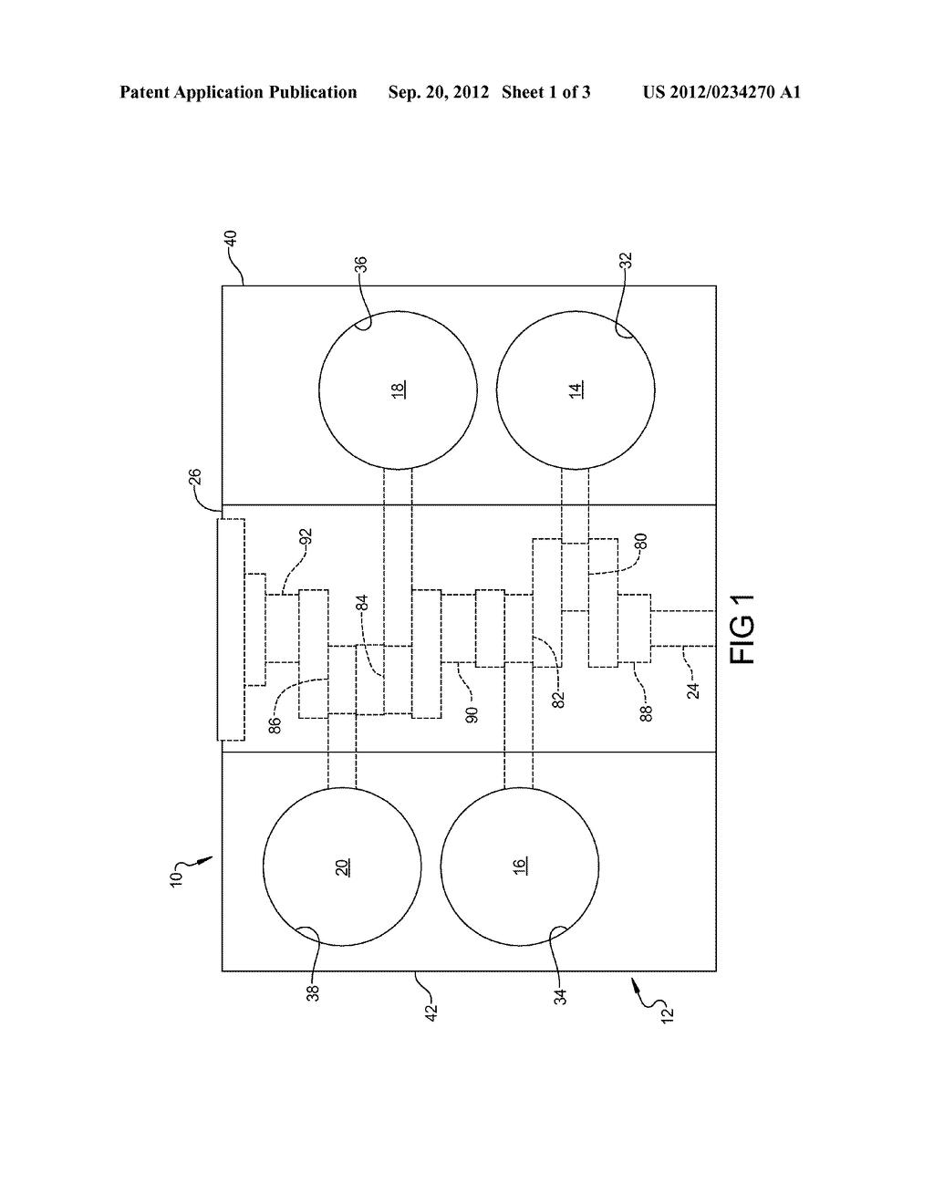 ENGINE ASSEMBLY INCLUDING CRANKSHAFT FOR V4 ARRANGEMENT - diagram, schematic,  and image 02 | Wisconsin V4 Engine Diagrams |  | Patents