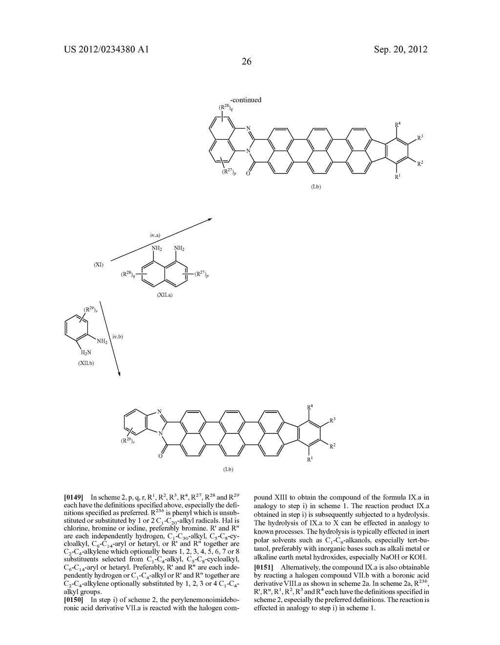 TERRYLENE COMPOUNDS, PREPARATION THEREOF AND USE THEREOF IN ORGANIC SOLAR     CELLS - diagram, schematic, and image 28