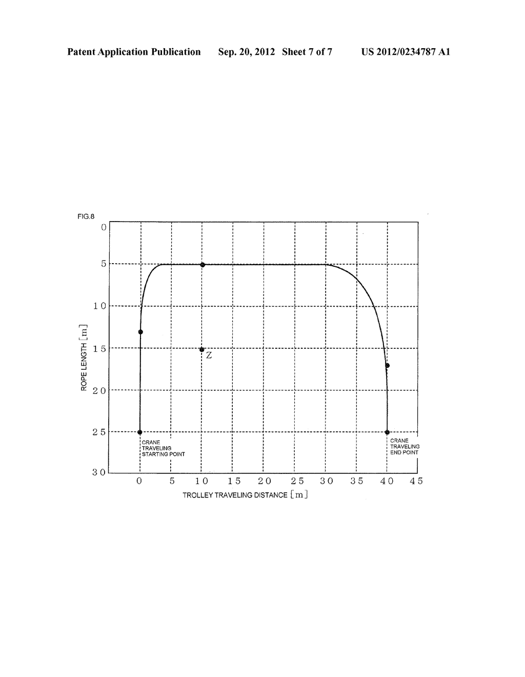 METHOD OF SWING STOPPING CONTROL AND SYSTEM OF SWING STOPPING CONTROL OF     SUSPENDED LOAD OF CRANE - diagram, schematic, and image 08