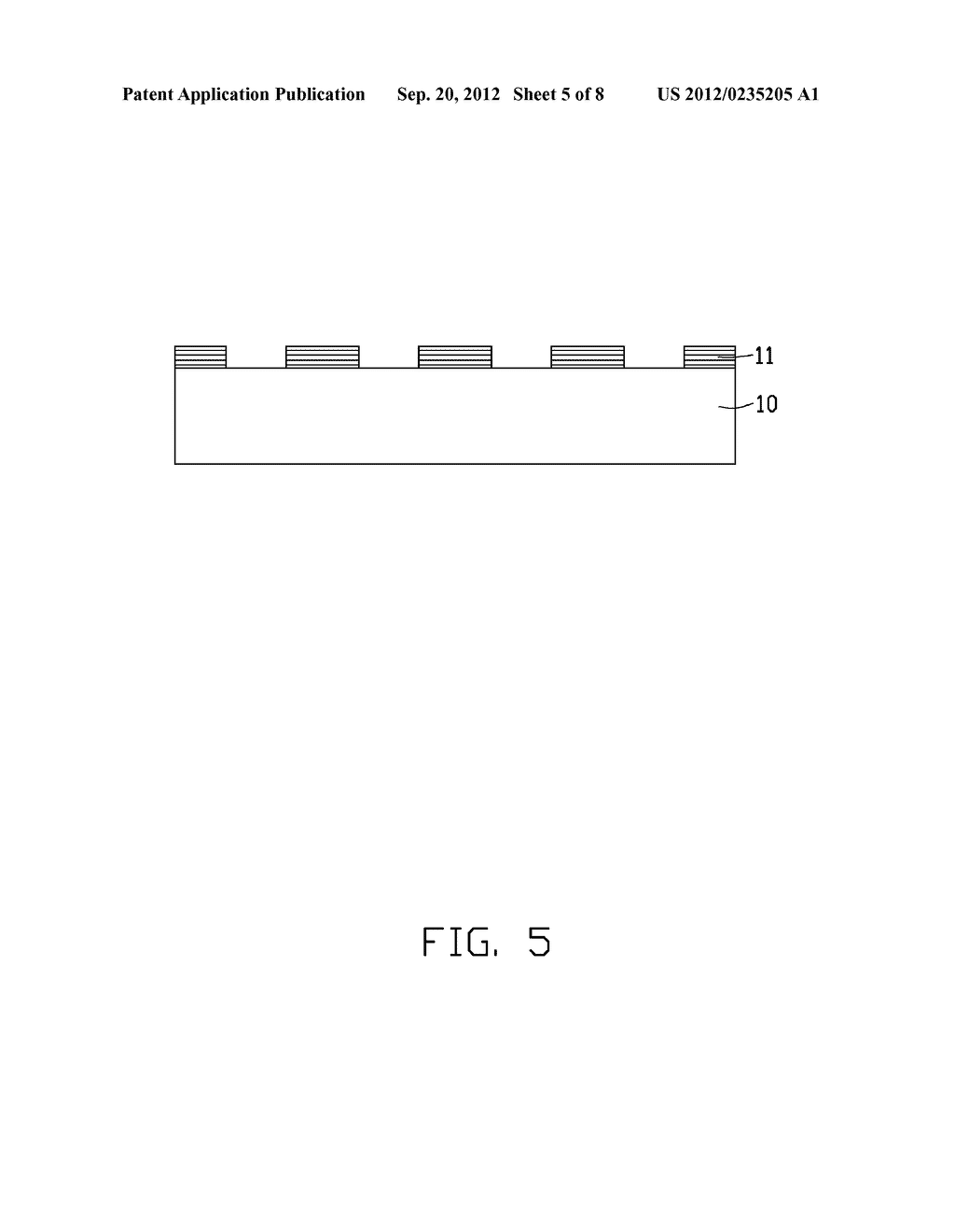 LIGHT EMITTING CHIP AND METHOD FOR MANUFACTURING THE SAME - diagram, schematic, and image 06