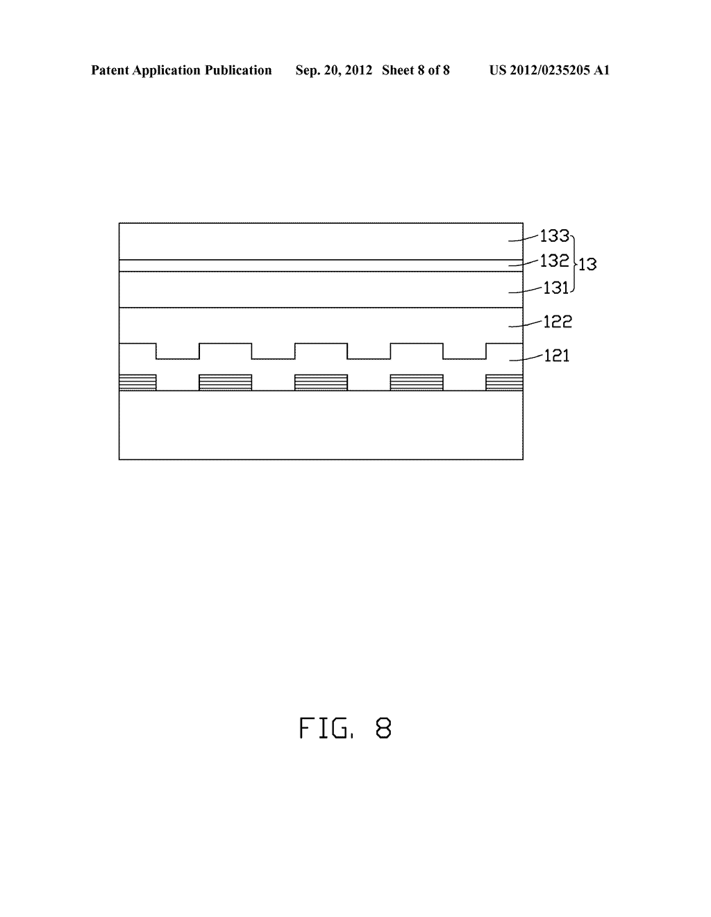 LIGHT EMITTING CHIP AND METHOD FOR MANUFACTURING THE SAME - diagram, schematic, and image 09