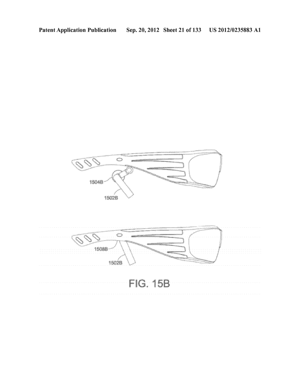 SEE-THROUGH NEAR-EYE DISPLAY GLASSES WITH A LIGHT TRANSMISSIVE WEDGE     SHAPED ILLUMINATION SYSTEM - diagram, schematic, and image 22