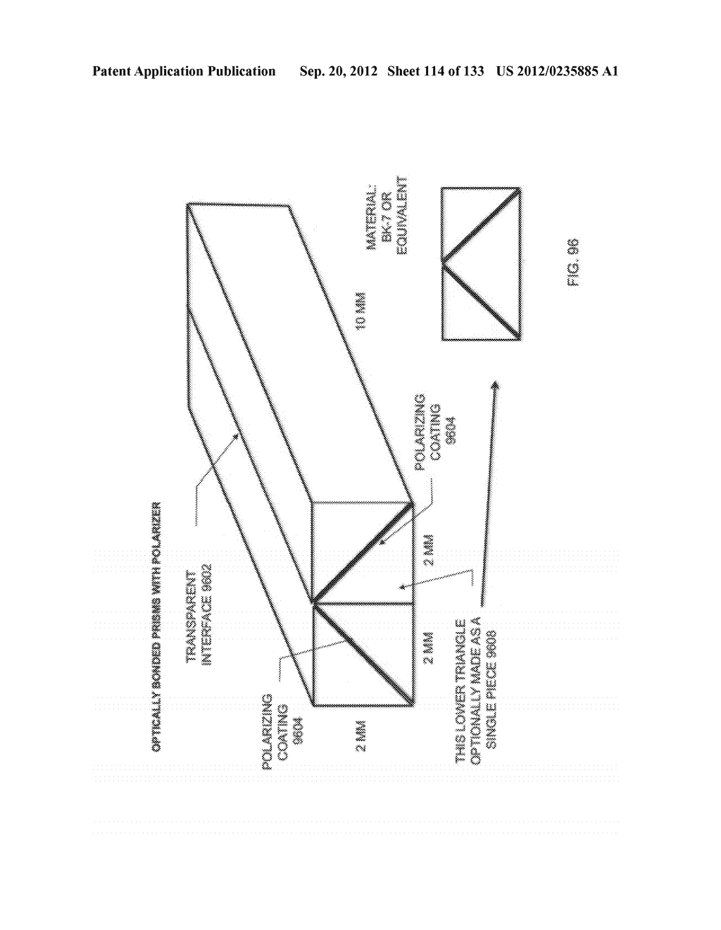 GRATING IN A LIGHT TRANSMISSIVE ILLUMINATION SYSTEM FOR SEE-THROUGH     NEAR-EYE DISPLAY GLASSES - diagram, schematic, and image 115