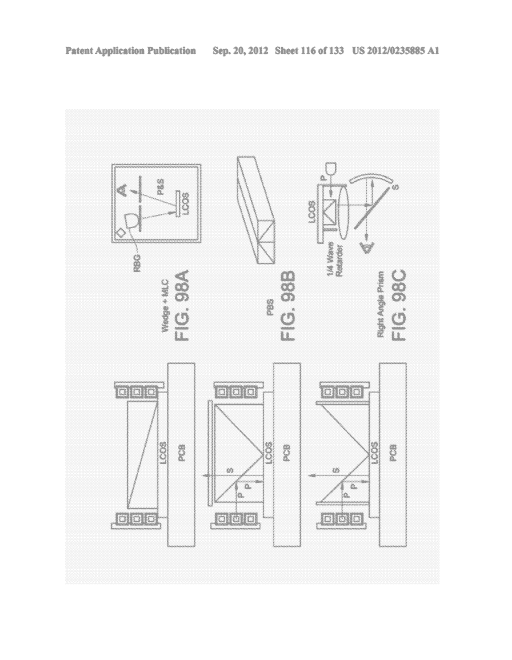 GRATING IN A LIGHT TRANSMISSIVE ILLUMINATION SYSTEM FOR SEE-THROUGH     NEAR-EYE DISPLAY GLASSES - diagram, schematic, and image 117