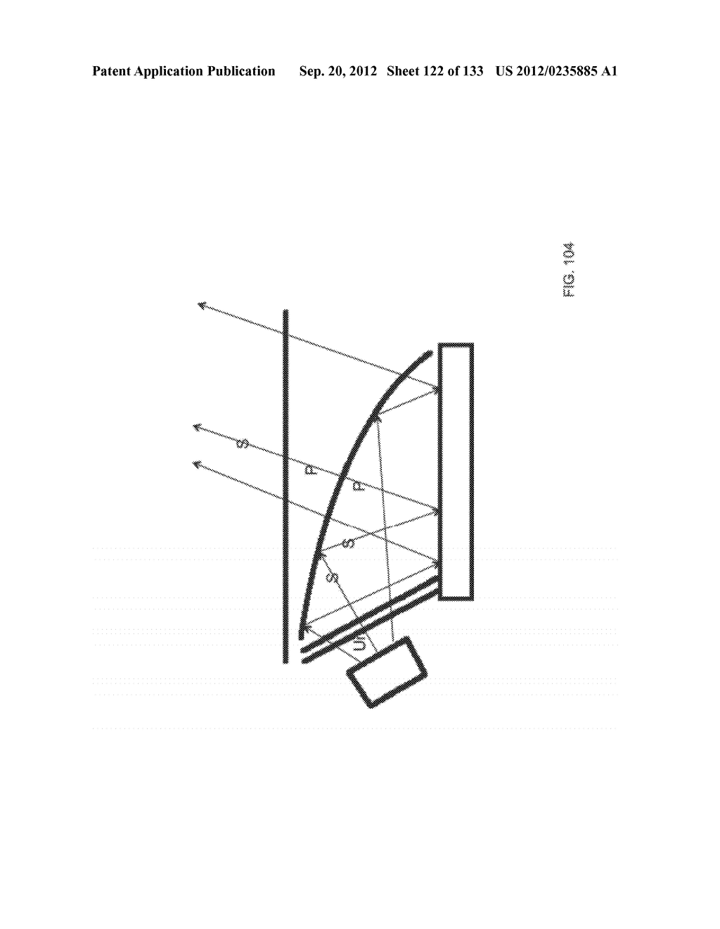 GRATING IN A LIGHT TRANSMISSIVE ILLUMINATION SYSTEM FOR SEE-THROUGH     NEAR-EYE DISPLAY GLASSES - diagram, schematic, and image 123
