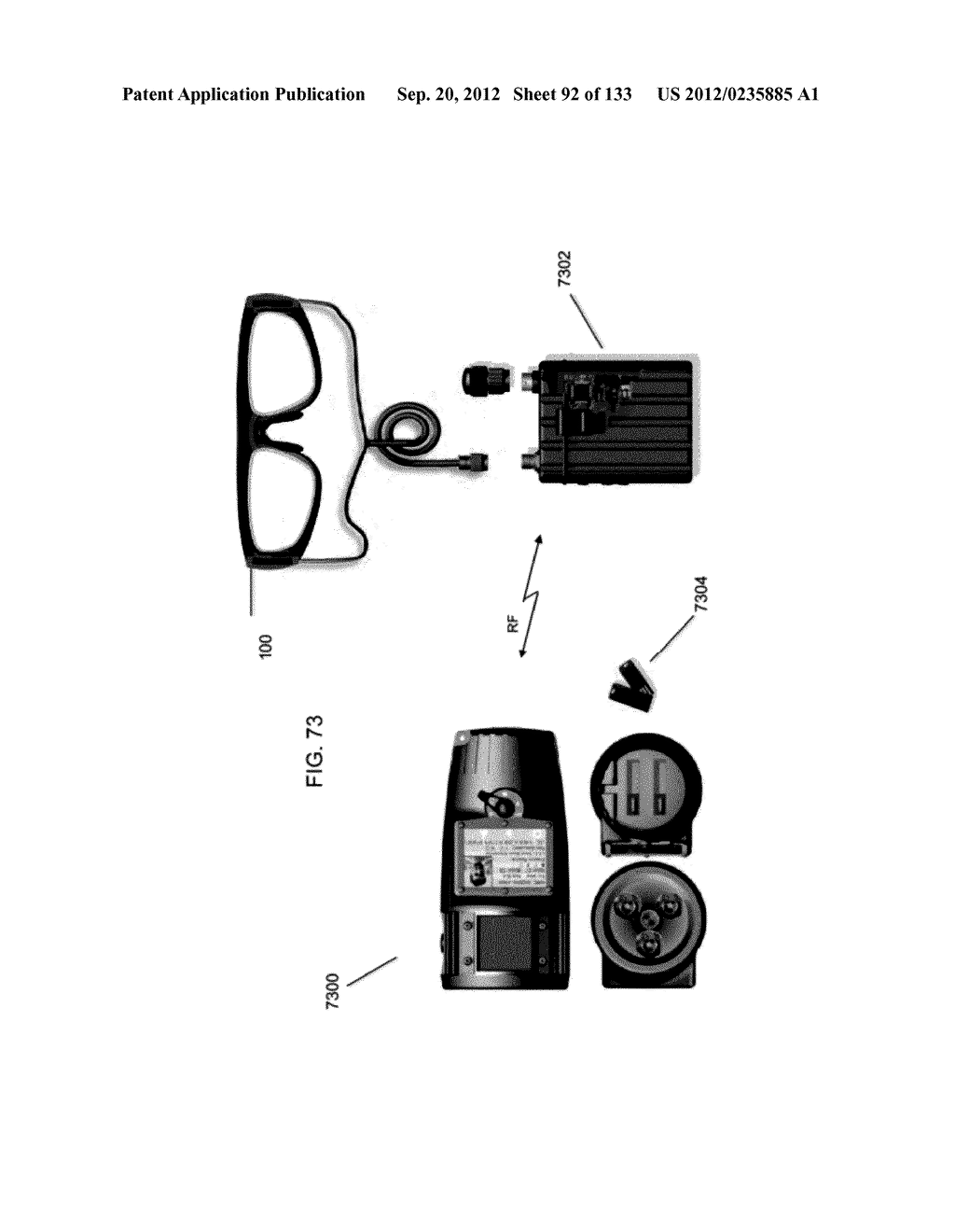 GRATING IN A LIGHT TRANSMISSIVE ILLUMINATION SYSTEM FOR SEE-THROUGH     NEAR-EYE DISPLAY GLASSES - diagram, schematic, and image 93