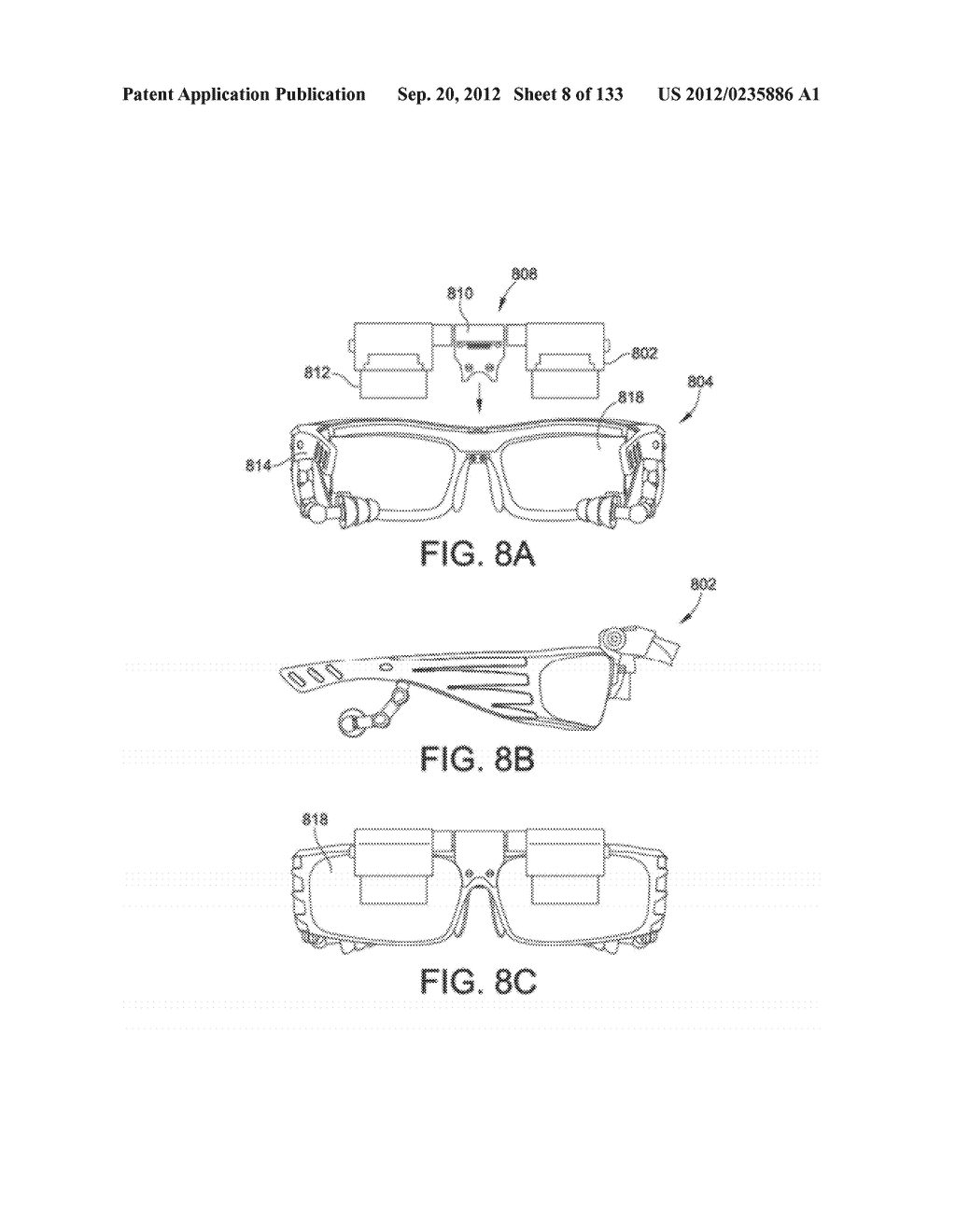 SEE-THROUGH NEAR-EYE DISPLAY GLASSES WITH A SMALL SCALE IMAGE SOURCE - diagram, schematic, and image 09