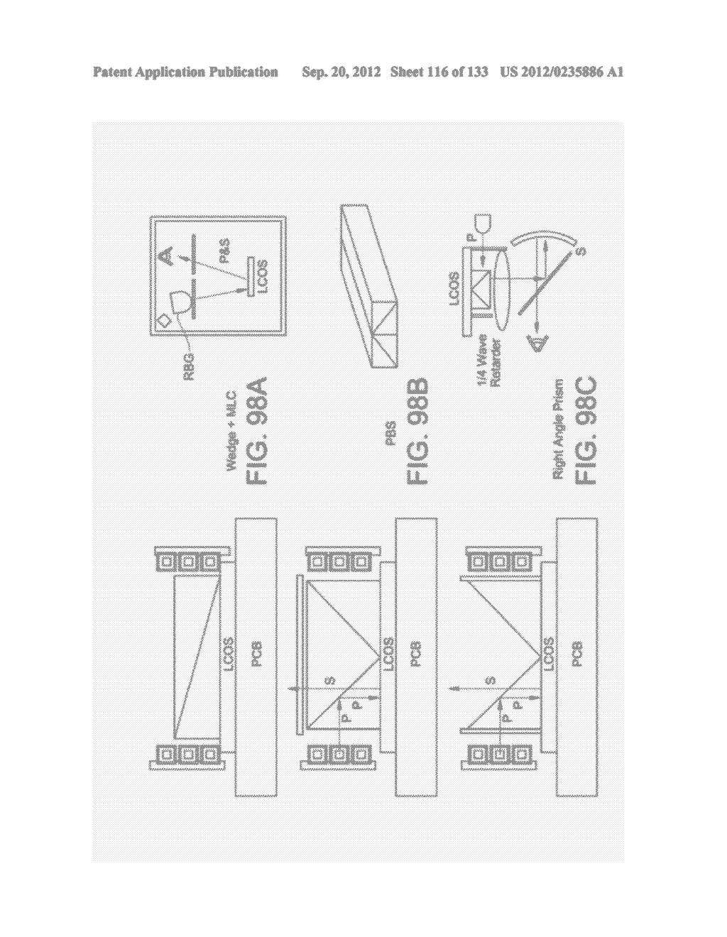 SEE-THROUGH NEAR-EYE DISPLAY GLASSES WITH A SMALL SCALE IMAGE SOURCE - diagram, schematic, and image 117