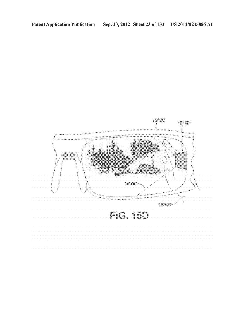 SEE-THROUGH NEAR-EYE DISPLAY GLASSES WITH A SMALL SCALE IMAGE SOURCE - diagram, schematic, and image 24