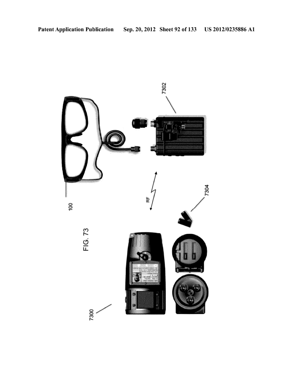 SEE-THROUGH NEAR-EYE DISPLAY GLASSES WITH A SMALL SCALE IMAGE SOURCE - diagram, schematic, and image 93