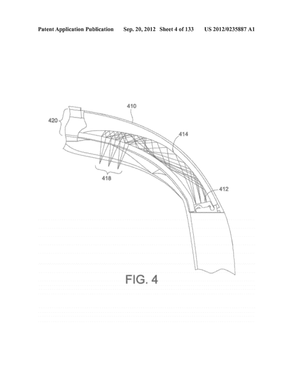 SEE-THROUGH NEAR-EYE DISPLAY GLASSES INCLUDING A PARTIALLY REFLECTIVE,     PARTIALLY TRANSMITTING OPTICAL ELEMENT AND AN OPTICALLY FLAT FILM - diagram, schematic, and image 05