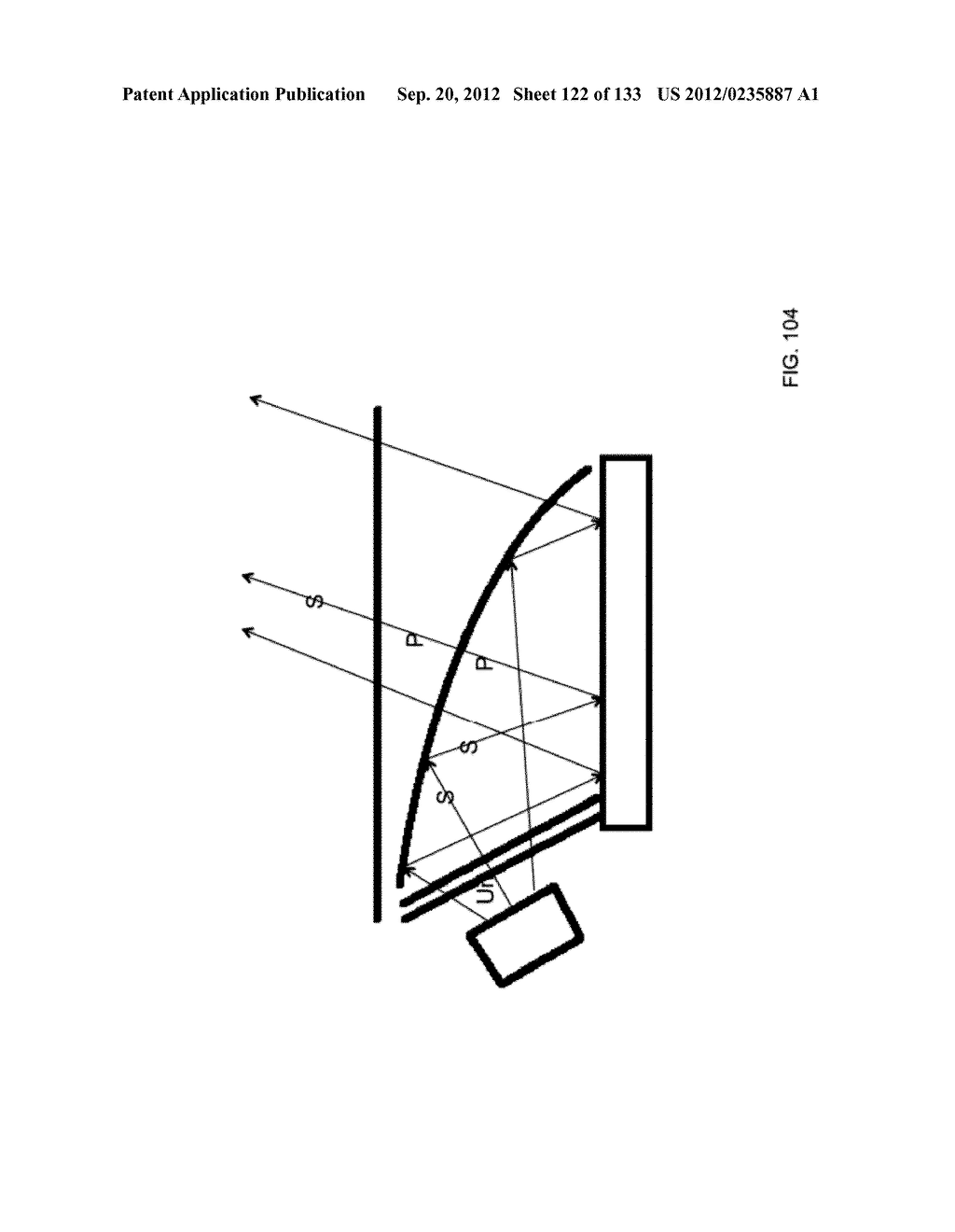 SEE-THROUGH NEAR-EYE DISPLAY GLASSES INCLUDING A PARTIALLY REFLECTIVE,     PARTIALLY TRANSMITTING OPTICAL ELEMENT AND AN OPTICALLY FLAT FILM - diagram, schematic, and image 123