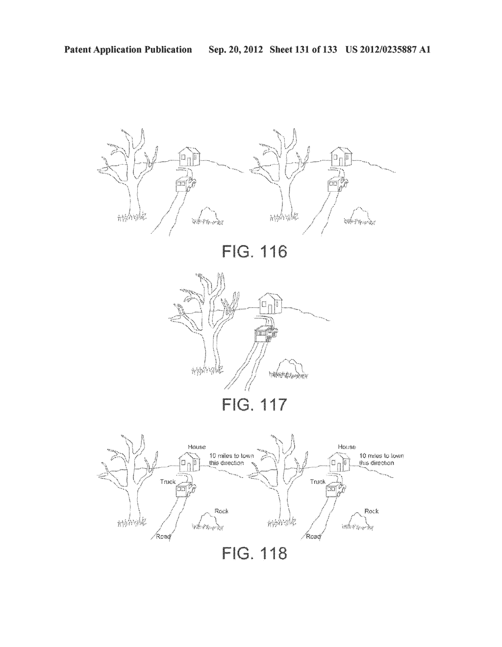 SEE-THROUGH NEAR-EYE DISPLAY GLASSES INCLUDING A PARTIALLY REFLECTIVE,     PARTIALLY TRANSMITTING OPTICAL ELEMENT AND AN OPTICALLY FLAT FILM - diagram, schematic, and image 132