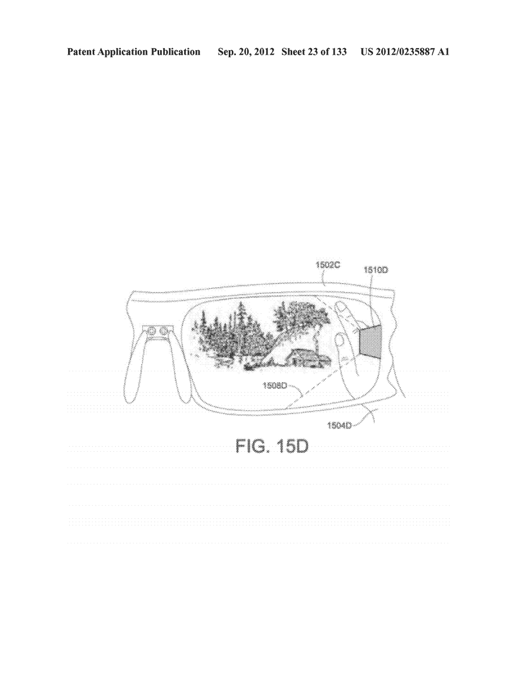 SEE-THROUGH NEAR-EYE DISPLAY GLASSES INCLUDING A PARTIALLY REFLECTIVE,     PARTIALLY TRANSMITTING OPTICAL ELEMENT AND AN OPTICALLY FLAT FILM - diagram, schematic, and image 24