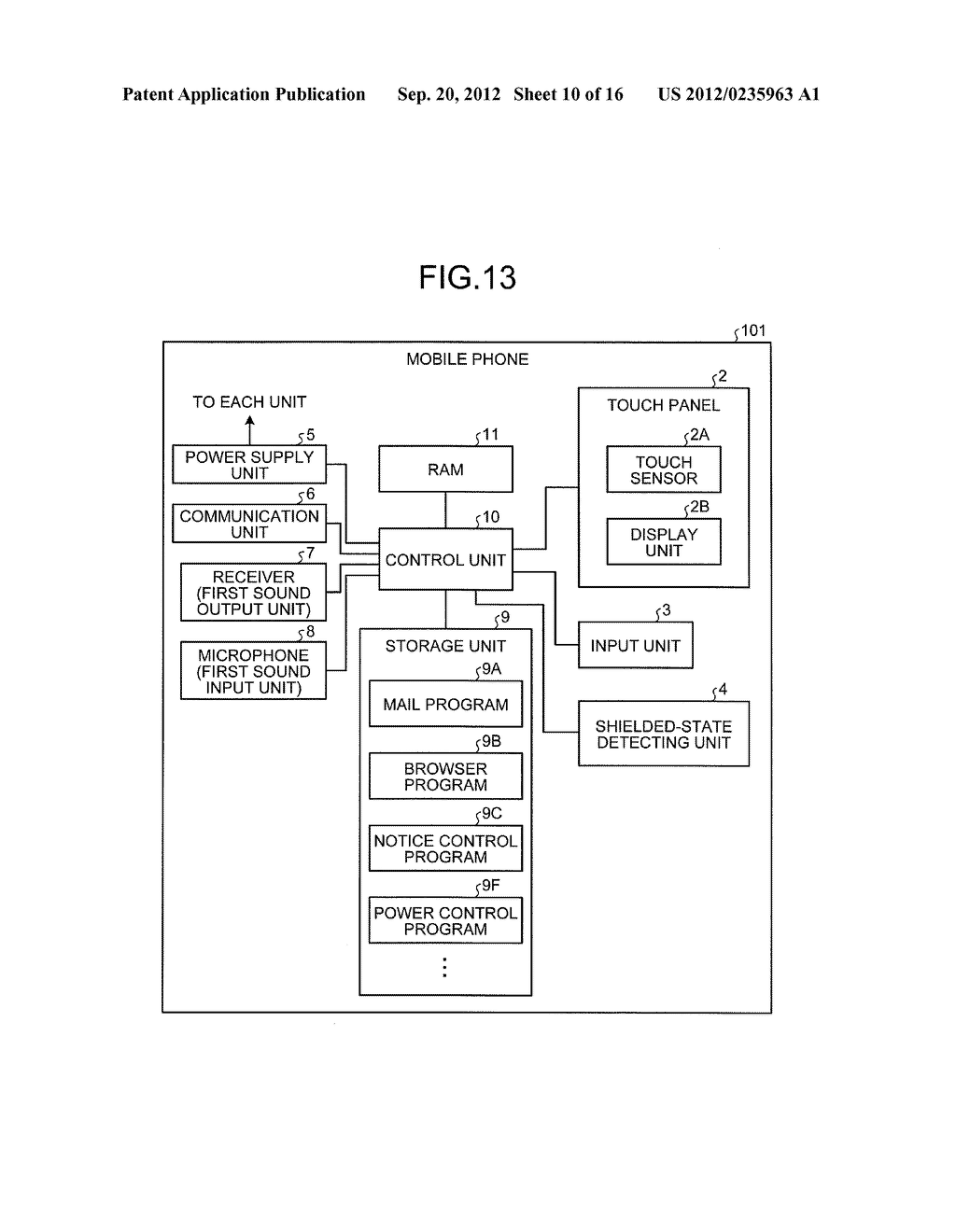 ELECTRONIC DEVICE, CONTROL METHOD, AND STORAGE MEDIUM STORING CONTROL     PROGRAM - diagram, schematic, and image 11