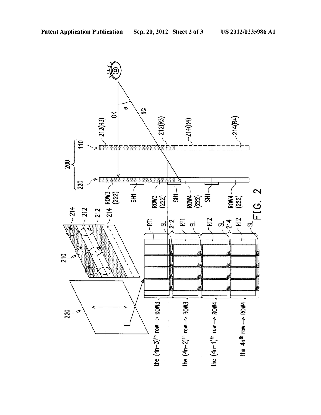 THREE-DIMENSIONAL DISPLAY - diagram, schematic, and image 03