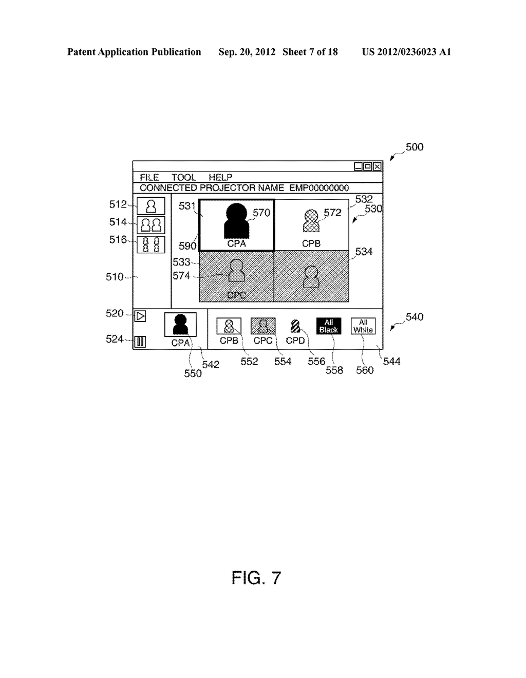 INFORMATION STORAGE MEDIUM, TERMINAL DEVICE, DISPLAY SYSTEM, AND A METHOD     FOR CONTROLLING A TERMINAL DEVICE - diagram, schematic, and image 08