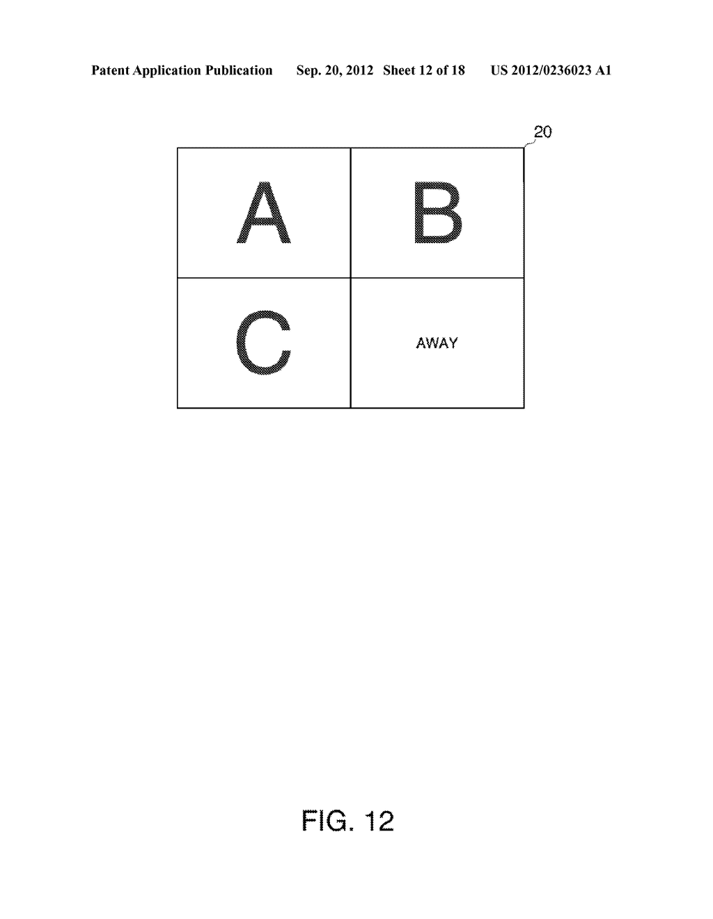 INFORMATION STORAGE MEDIUM, TERMINAL DEVICE, DISPLAY SYSTEM, AND A METHOD     FOR CONTROLLING A TERMINAL DEVICE - diagram, schematic, and image 13