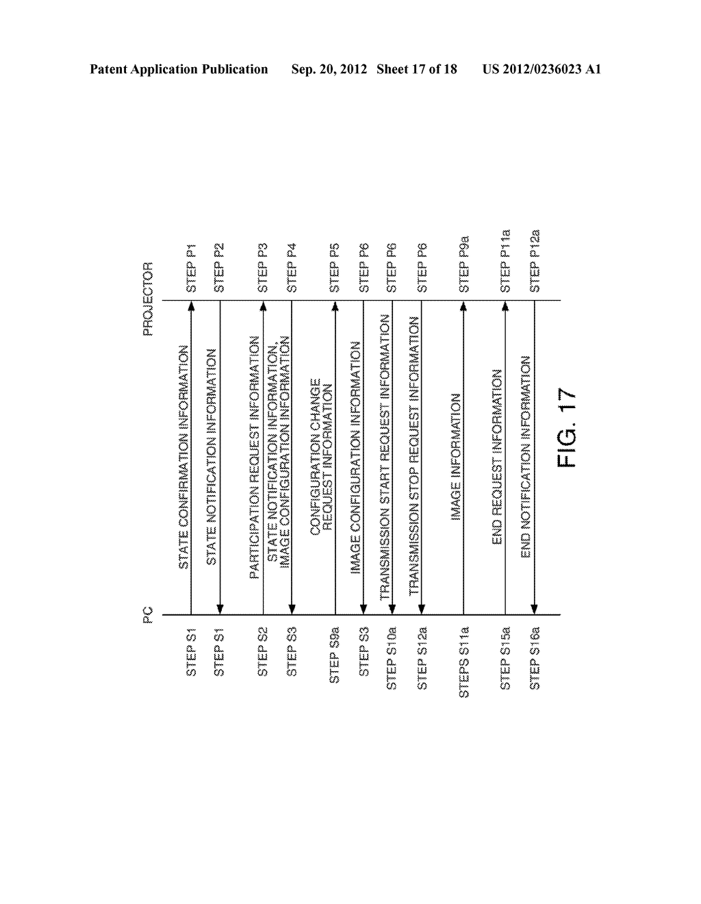INFORMATION STORAGE MEDIUM, TERMINAL DEVICE, DISPLAY SYSTEM, AND A METHOD     FOR CONTROLLING A TERMINAL DEVICE - diagram, schematic, and image 18