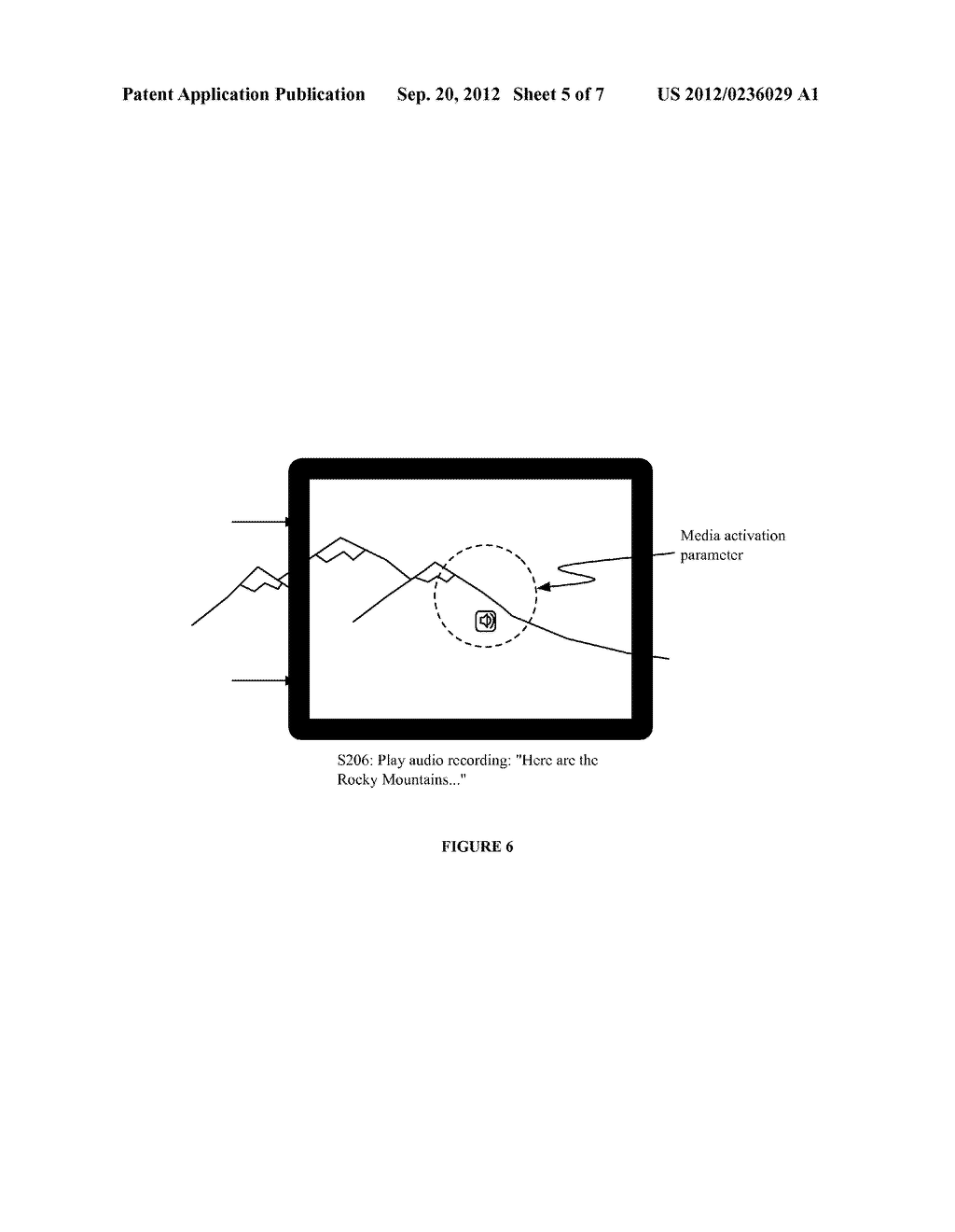 SYSTEM AND METHOD FOR EMBEDDING AND VIEWING MEDIA FILES WITHIN A VIRTUAL     AND AUGMENTED REALITY SCENE - diagram, schematic, and image 06