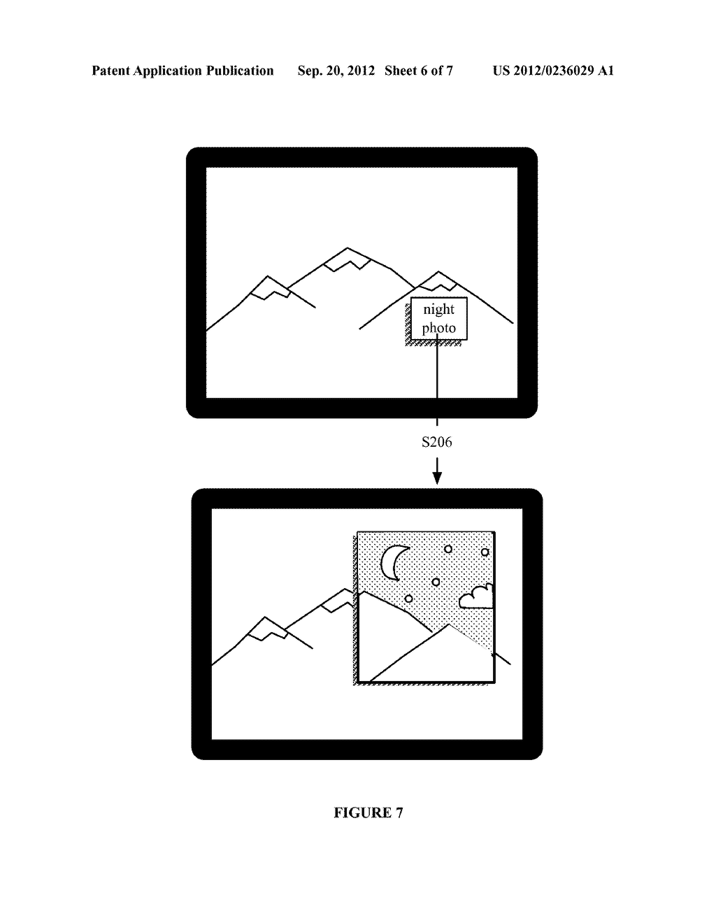SYSTEM AND METHOD FOR EMBEDDING AND VIEWING MEDIA FILES WITHIN A VIRTUAL     AND AUGMENTED REALITY SCENE - diagram, schematic, and image 07