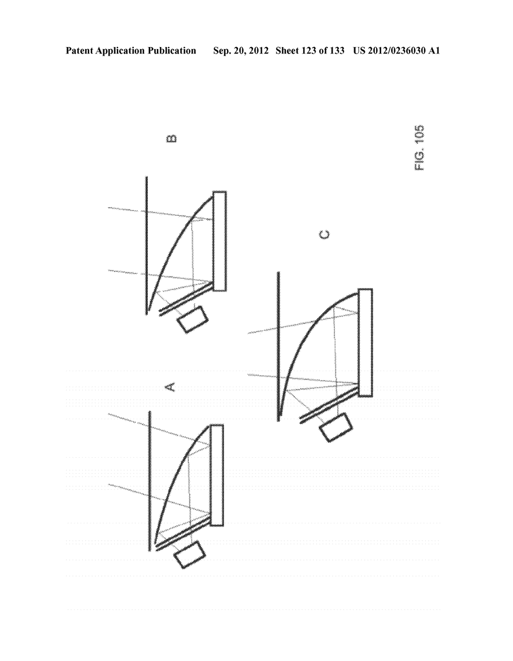 SEE-THROUGH NEAR-EYE DISPLAY GLASSES INCLUDING A MODULAR IMAGE SOURCE - diagram, schematic, and image 124