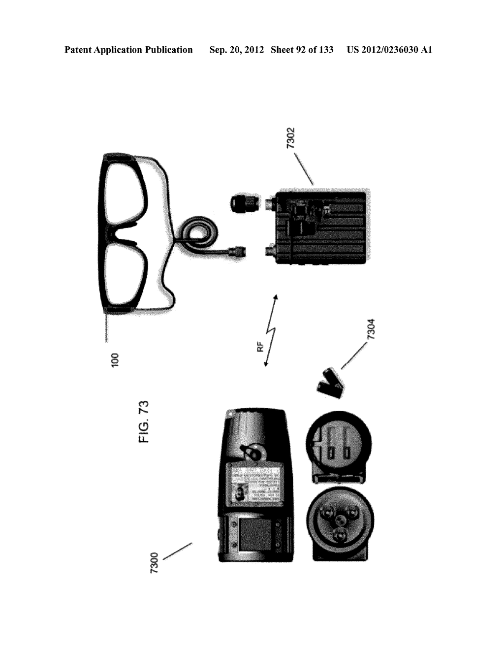 SEE-THROUGH NEAR-EYE DISPLAY GLASSES INCLUDING A MODULAR IMAGE SOURCE - diagram, schematic, and image 93