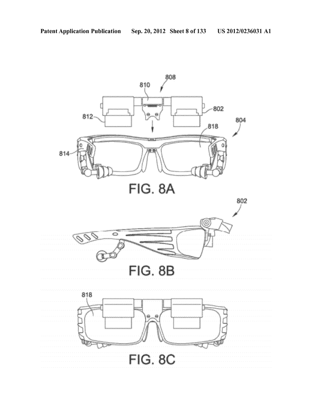 SYSTEM AND METHOD FOR DELIVERING CONTENT TO A GROUP OF SEE-THROUGH NEAR     EYE DISPLAY EYEPIECES - diagram, schematic, and image 09