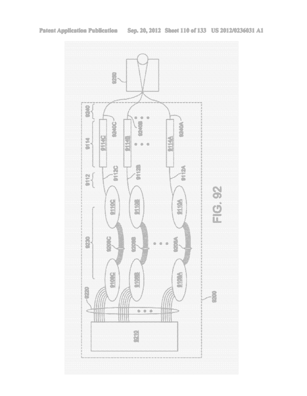 SYSTEM AND METHOD FOR DELIVERING CONTENT TO A GROUP OF SEE-THROUGH NEAR     EYE DISPLAY EYEPIECES - diagram, schematic, and image 111