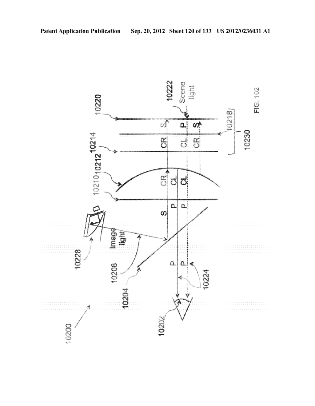 SYSTEM AND METHOD FOR DELIVERING CONTENT TO A GROUP OF SEE-THROUGH NEAR     EYE DISPLAY EYEPIECES - diagram, schematic, and image 121
