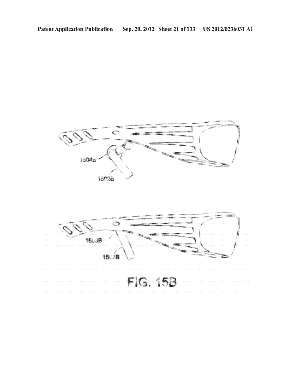 SYSTEM AND METHOD FOR DELIVERING CONTENT TO A GROUP OF SEE-THROUGH NEAR     EYE DISPLAY EYEPIECES - diagram, schematic, and image 22