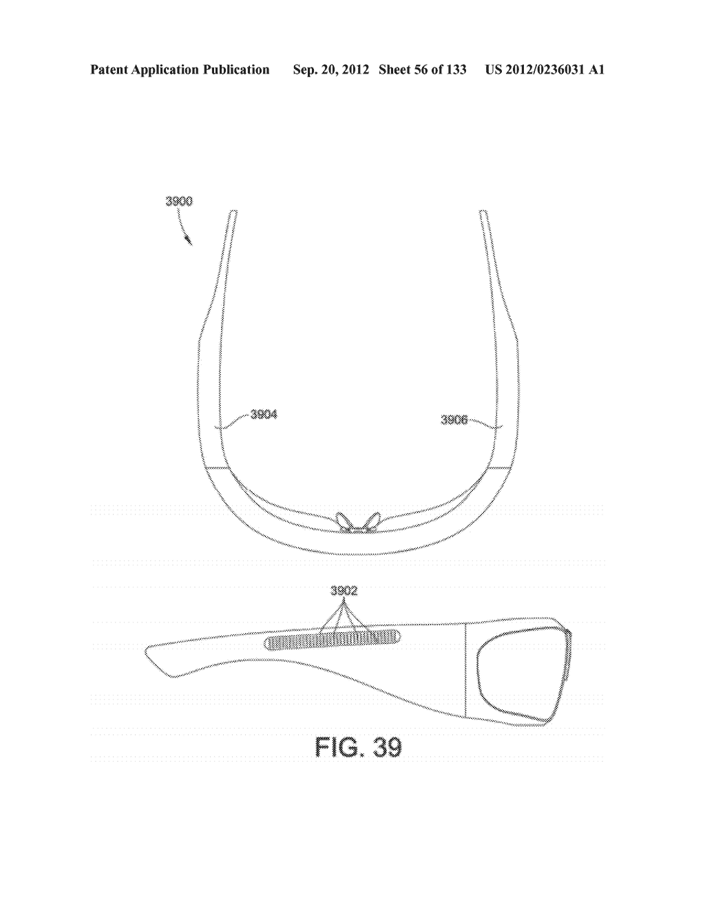 SYSTEM AND METHOD FOR DELIVERING CONTENT TO A GROUP OF SEE-THROUGH NEAR     EYE DISPLAY EYEPIECES - diagram, schematic, and image 57