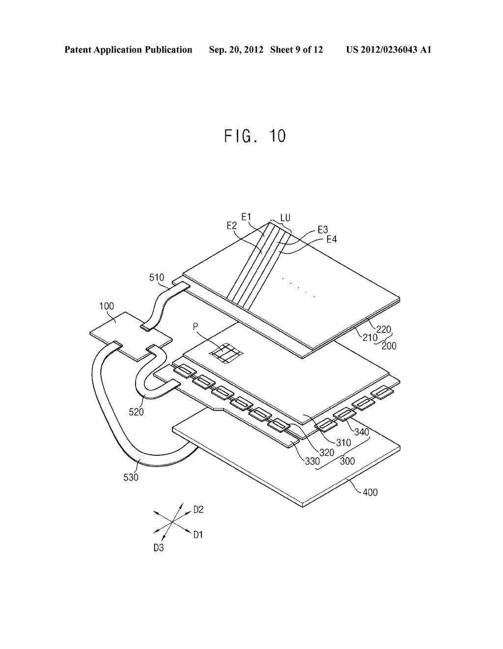 DISPLAY APPARATUS AND METHOD OF DRIVING THE SAME - diagram, schematic, and image 10