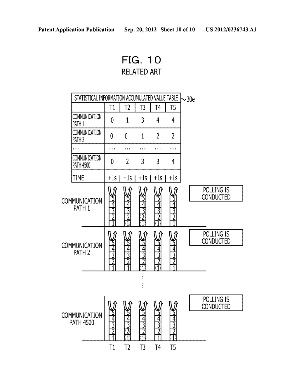 TRANSMITTING DEVICE AND INFORMATION ACQUISITION CONTROL METHOD - diagram, schematic, and image 11