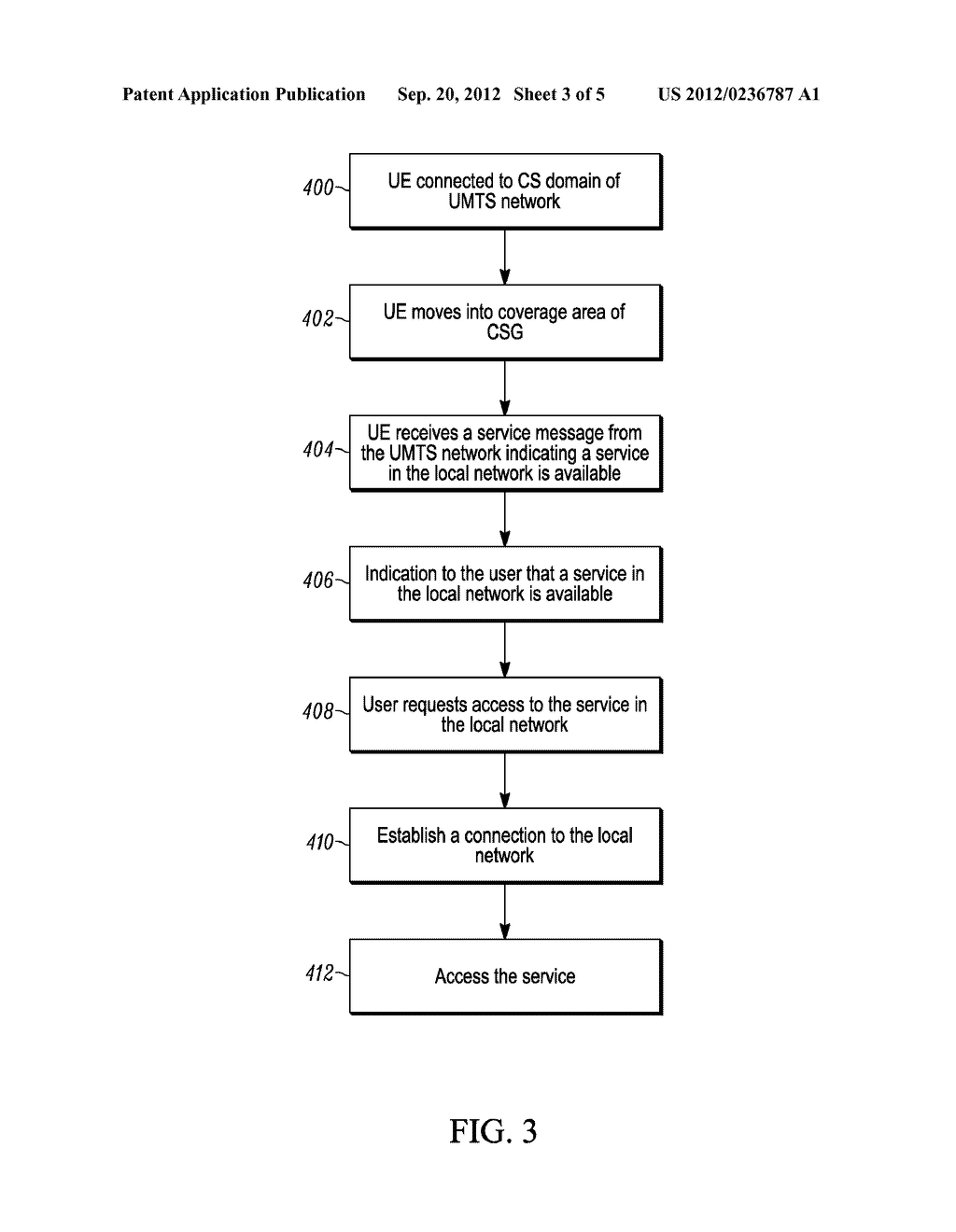 METHOD FOR ENABLING A WIRLESS COMMUNICATION DEVICE, CONNECTED TO A FIRST     DOMAIN OF A NETWORK, TO ACCESS A SERVICE IN A SECOND DOMAIN, WIRELESS     COMMUNICATION DEVICE AND COMMUNICATION SYSTEM - diagram, schematic, and image 04