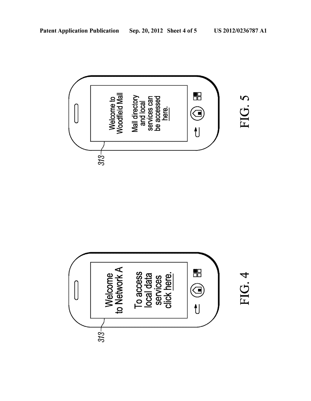 METHOD FOR ENABLING A WIRLESS COMMUNICATION DEVICE, CONNECTED TO A FIRST     DOMAIN OF A NETWORK, TO ACCESS A SERVICE IN A SECOND DOMAIN, WIRELESS     COMMUNICATION DEVICE AND COMMUNICATION SYSTEM - diagram, schematic, and image 05