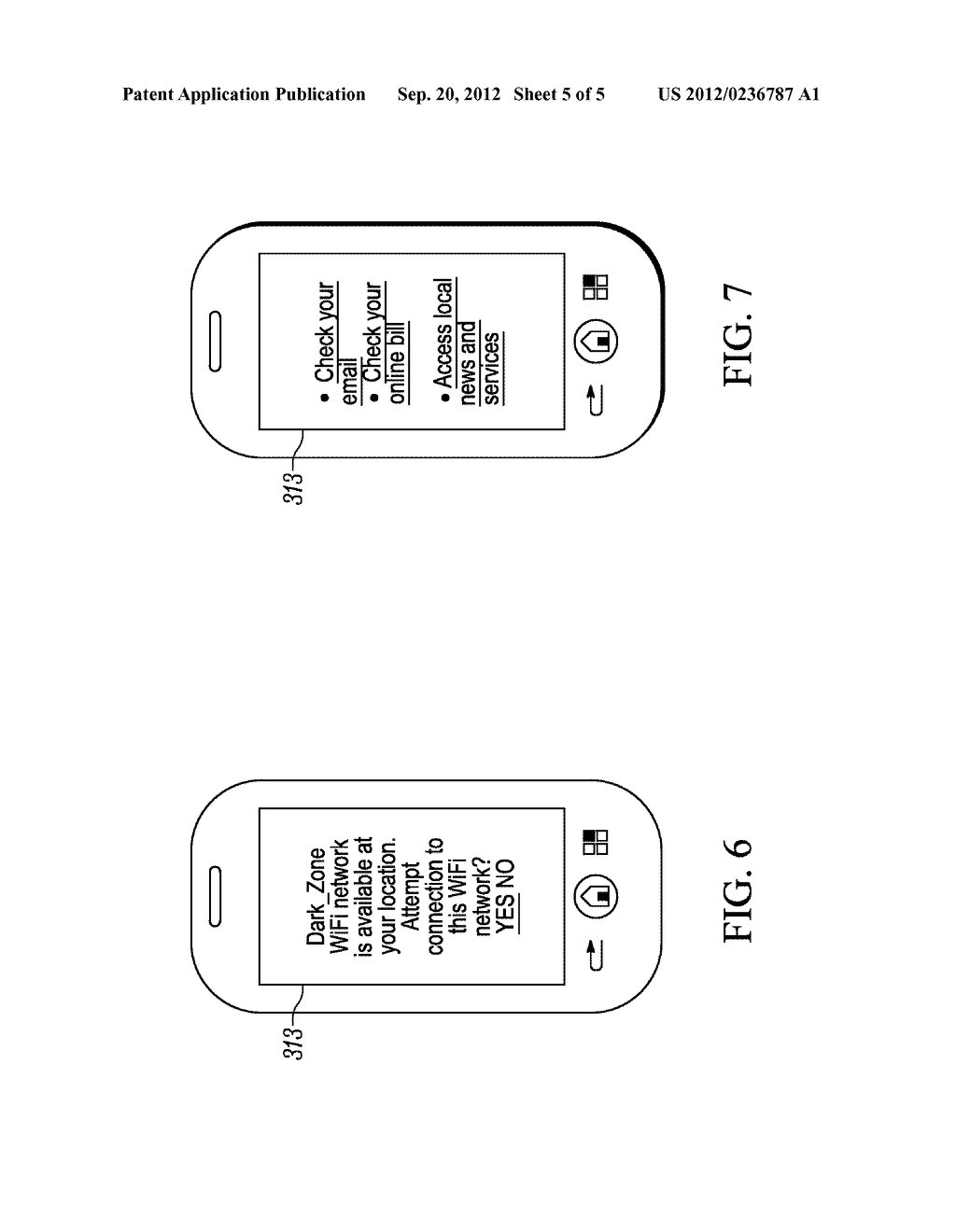 METHOD FOR ENABLING A WIRLESS COMMUNICATION DEVICE, CONNECTED TO A FIRST     DOMAIN OF A NETWORK, TO ACCESS A SERVICE IN A SECOND DOMAIN, WIRELESS     COMMUNICATION DEVICE AND COMMUNICATION SYSTEM - diagram, schematic, and image 06