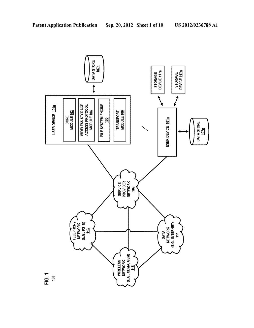METHOD AND SYSTEM FOR ACCESSING STORAGE DEVICES - diagram, schematic, and image 02